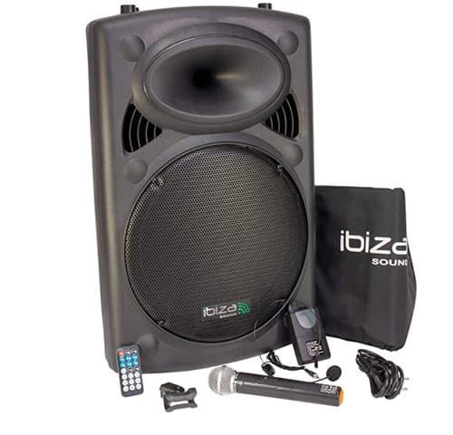 Ibiza Sound PORT 15VHF-BT