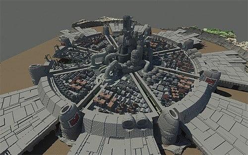 Midgar, ciudad del Final Fantasy VII