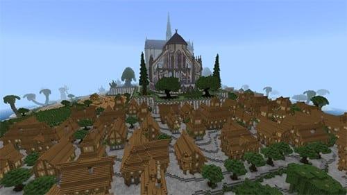 Notre Dame y Medieval City